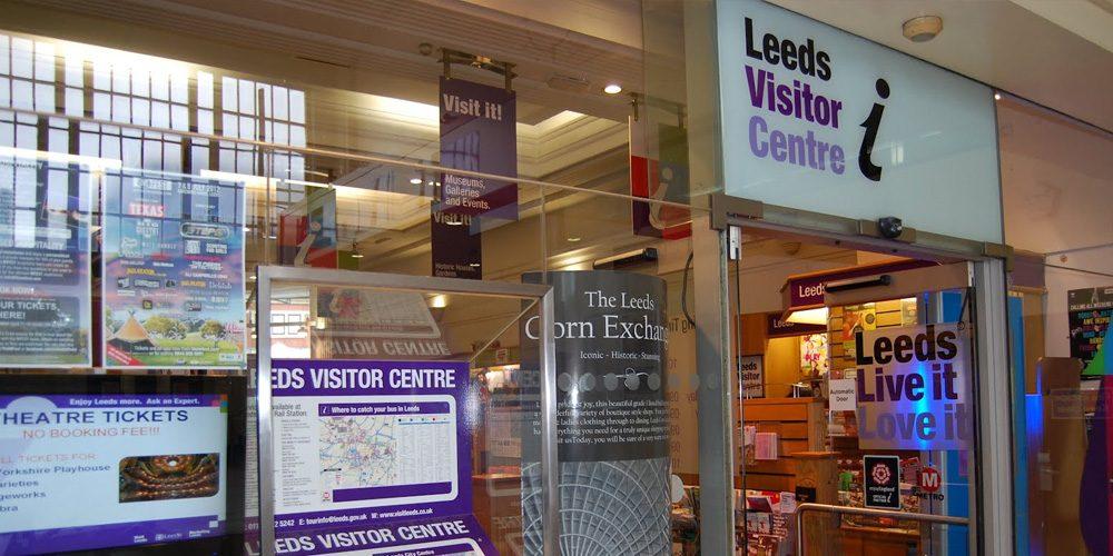 Top Screen Media Install at Leeds Tourist Information Centre (Leeds Train Station)